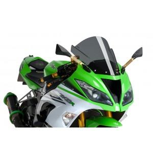 Ζελατίνα Puig Racing Kawasaki ZX-6R 09-16 σκούρο φιμέ