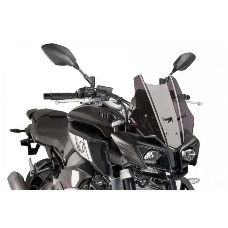 Ζελατίνα Puig Racing Yamaha MT-10 σκούρο φιμέ