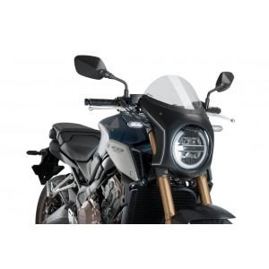 Ζελατίνα Puig Retro Semi Fairing Honda CB 650/1000 R Neo Sports Cafe διάφανη