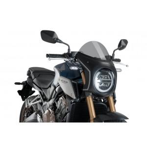Ζελατίνα Puig Retro Semi Fairing Honda CB 650/1000 R Neo Sports Cafe ελαφρώς φιμέ
