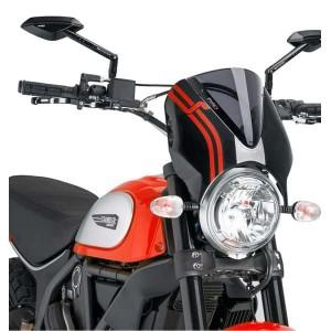 Ζελατίνα Puig Retrovision Ducati Scrambler σκούρο φιμέ