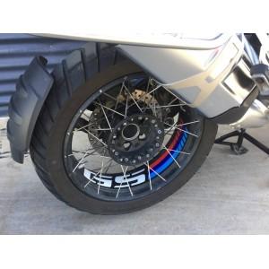 """Ταινία τροχών Puig με λογότυπο """"GS"""" BMW R 1200 GS Adv. LC 14- μαύρη"""