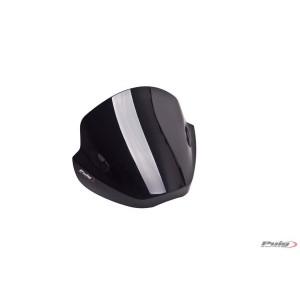 Ζελατίνα Puig Stream Kawasaki Z 750/R 07-12 μαύρη