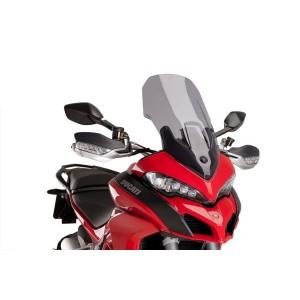 Ζελατίνα Puig Touring Ducati Multistrada 1200/S 15- ελαφρώς φιμέ