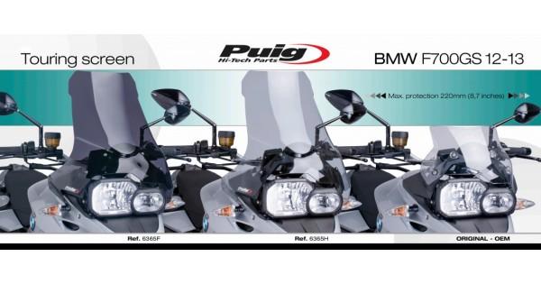 puig touring bmw f 700 gs. Black Bedroom Furniture Sets. Home Design Ideas