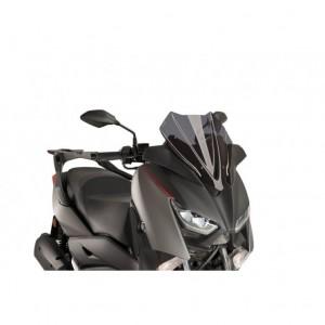 Ζελατίνα Puig V-Tech Sport Yamaha X-Μax 125 18- σκούρο φιμέ