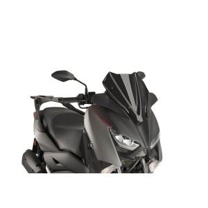 Ζελατίνα Puig V-Tech Sport Yamaha X-Μax 300 17- μαύρη