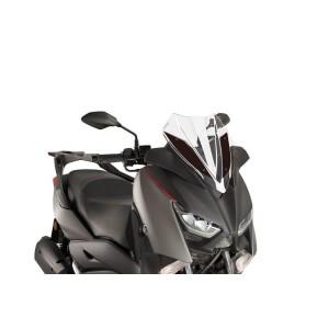 Ζελατίνα Puig V-Tech Sport Yamaha X-Μax 300 17- διάφανη