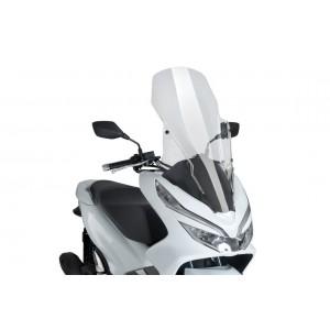 Ζελατίνα Puig V-Tech Touring Honda PCX 125-150 18- διάφανη