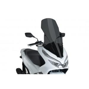 Ζελατίνα Puig V-Tech Touring Honda PCX 125-150 18- σκούρο φιμέ
