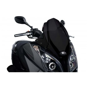 Ζελατίνα Puig V-Tech Sport Kymco Downtown 125i-300i -14 μαύρη
