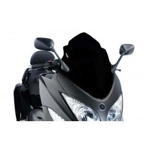 Ζελατίνα Puig V-Tech Sport Yamaha T-MAX 500 08-11 μαύρη
