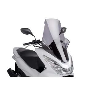 Ζελατίνα Puig V-Tech Touring Honda PCX 125 14-17 ελαφρώς φιμέ