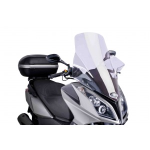Ζελατίνα Puig V-Tech Touring Kymco Downtown 125i-300i -14 διάφανη