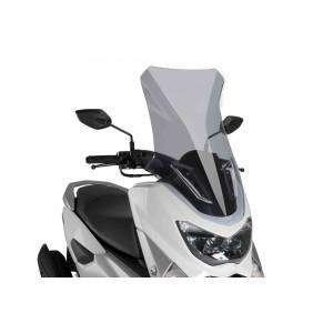 Ζελατίνα Puig V-Tech Touring Yamaha N-MAX 125-155 ελαφρώς φιμέ