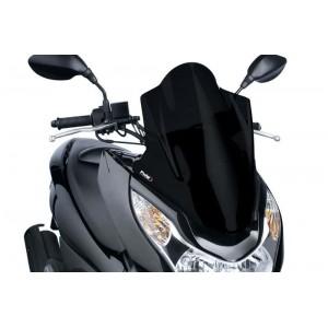 Ζελατίνα Puig V-Tech Touring Honda PCX 125 10-13 μαύρη