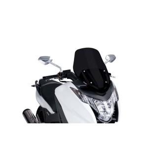 Ζελατίνα Puig V-Tech Sport Honda Integra 700-750 12- μαύρη