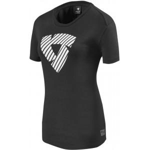 Γυναικείο t-shirt Rev'IT Louise μαύρο