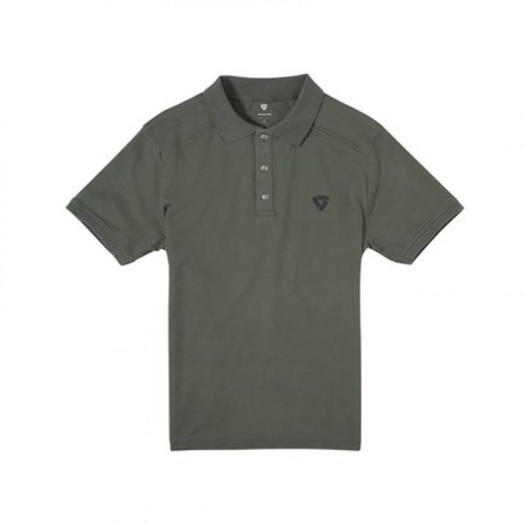 Polo RevIT Ashland σκούρο πράσινο