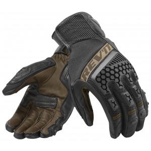 Γάντια RevIT Sand 3 καλοκαιρινά μαύρα-καφέ