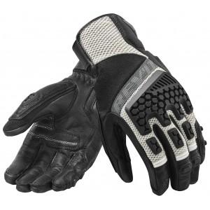 Γάντια RevIT Sand 3 καλοκαιρινά μαύρα-ασημί