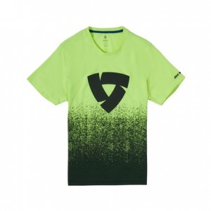 T-shirt RevIT Quantum μαύρο-neon κίτρινο