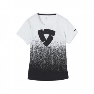 T-shirt RevIT Quantum μαύρο-λευκό γυναικείο
