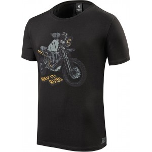 T-shirt RevIT Quin μαύρο