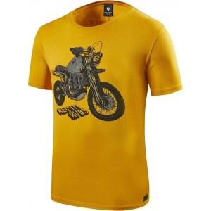T-shirt RevIT Quin κίτρινο
