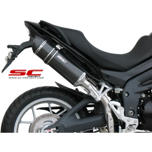 Τελικό εξάτμισης SC-Project Triumph Tiger 1050 -12 carbon look