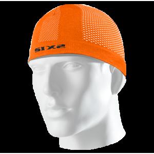 Σκουφάκι SIX2 carbon πορτοκαλί