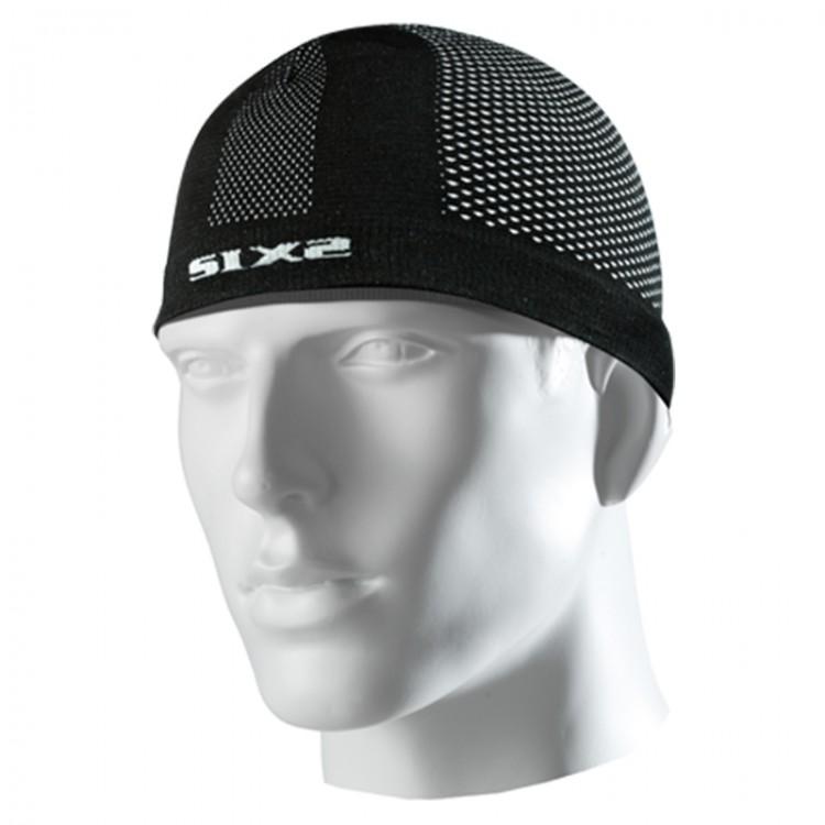 Σκουφάκι SIX2 carbon μαύρο