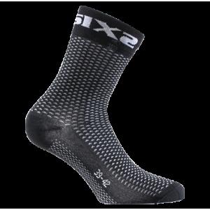 Κάλτσες SIXS Carbon κοντές (λεπτές)