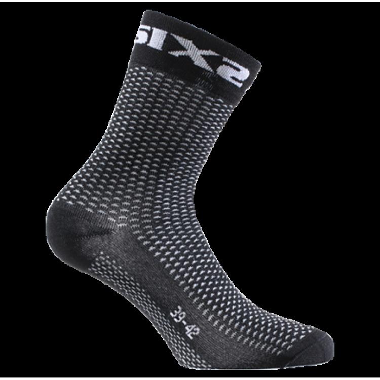 Κάλτσες SIX2 carbon κοντές (λεπτές)
