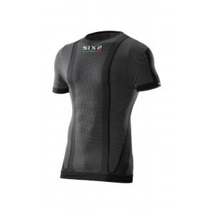 T-shirt SIXS από carbon μαύρο