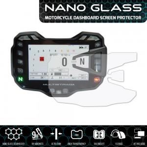 Nano glass για προστασία TFT οθόνης Ducati Multistrada 1200/S 15- (σετ 2 ultra clear)