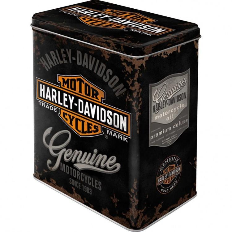 Μεταλλικό Κουτί Harley-Davidson Genuine