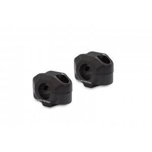 Αποστάτες SW-Motech 15mm για τιμόνια Ø22mm μαύρο