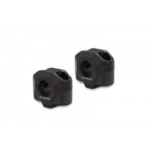 Αποστάτες SW-Motech 20mm για τιμόνια Ø22mm μαύρο