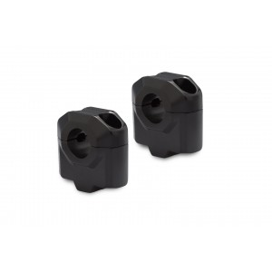 Αποστάτες SW-Motech 30mm για τιμόνια Ø22mm μαύρο