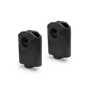 Αποστάτες SW-Motech 50mm για τιμόνια Ø22mm μαύροι