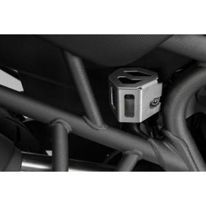 Προστατευτικό κάλυμμα δοχείου υγρών πίσω φρένου Triumph Tiger 800/XC/XR ασημί