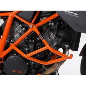 Προστατευτικά κάγκελα κινητήρα SW-Motech KTM 1290 Super Duke GT/R πορτοκαλί