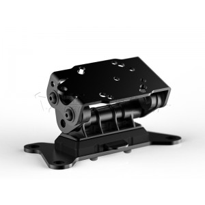 Βάση GPS SW-Motech Quick-Lock στην τιμονόπλακα Kawasaki GTR 1400 07-
