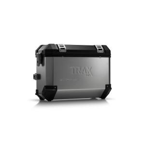 Πλαϊνή βαλίτσα SW-Motech TRAX ION 37 lt. ασημί