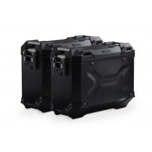 Σετ βάσεων και βαλιτσών SW-Motech TRAX ADV 37 lt. Yamaha MT-09 Tracer μαύρο