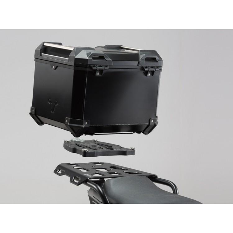Σετ βάσης και βαλίτσας topcase SW-Motech TraX ADV Ducati Multistrada 1200/S 15- μαύρο