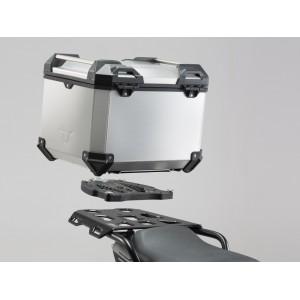 Σετ βάσης και βαλίτσας topcase SW-Motech TraX ADV KTM 1290 Super Adventure/T ασημί