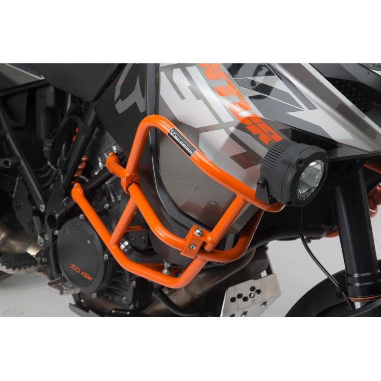 5df6f06c18 Άνω προστατευτικά κάγκελα SW-Motech για ΟΕΜ κάγκελα KTM 1050 Adventure  πορτοκαλί