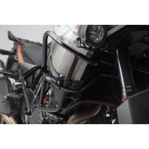 Άνω προστατευτικά κάγκελα SW-Motech για ΟΕΜ κάγκελα KTM 1290 Super Adventure S/R μαύρα